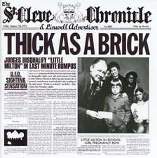 Jethro Tull - Thick As A Brick 0825646146468 NEW CD