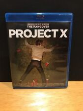 Project X (Blu-ray Disc, 2012) Like New