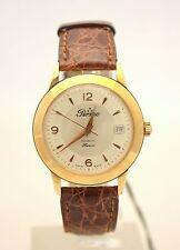 """Orologio da polso Perseo modello """"Hunter"""" ref. 11.333 in oro giallo 18 kt."""