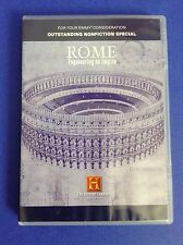 FYC Promo~ROME: ENGINEERING AN EMPIRE History Channel DVD 2005 CGI Architecture