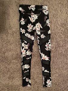 Flower Print Womens Leggings