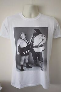 Big Daddy and Giant Haystacks t-shirt wrestling ric flair sting 1970s