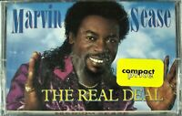 """MARVIN SEASE """"THE REAL DEAL"""" 1989 CASSETTE TAPE *SEALED* ~RARE~ *FREE SHIPPING*"""