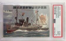 PSA 9 1955 Topps Minesweeper Rails & Sails #193 MINT