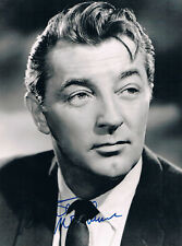 "Robert Mitchum 1917-97 genuine autograph signed 7""x9"" photo"