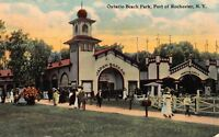 Postcard Ontario Beach Park at the Port of Rochester, New York~116517
