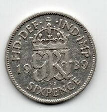 Great Britain - Engeland - 6 Pence 1939