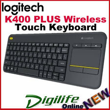 Logitech K400 Plus WirelessTouchPad Keyboard Unifying for PC-to-TV control