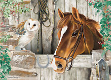 NEW! Otter House The Stable Door by Pollyanna Pickering 1000 piece owl jigsaw