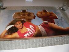 Vintage Adidas Poster Jayne Kennedy Signed Large spirit of the games