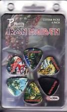 Iron Maiden - Guitar Pick Set - 6 Picks - Frontier Design- Licensed New in Pack
