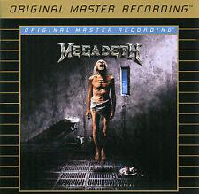 MEGADETH COUNTDOWN 24K GOLD  CD Jun-2006, MoFI NEW