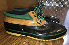 Bass Duck Boots Calgary Lace Up Ankle Shoes Handcrafted Thinsulate Women's Sz 9