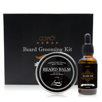 Beard Oil Balm Beard Care Kit Mustache Grooming GIFT SET