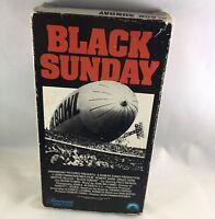 Black Sunday. VHS.Robert Shaw. Bruce dern. Marhe Keller