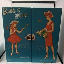 Rare Vintage 1964 Mattel Carrying Case for Barbie & Skipper # 7548