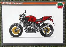 LAVERDA 650 GHOST MOTORCYCLE SALES BROCHURE 1990'S?