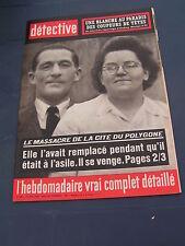 Détective 1963 892 éDANGE LES FAMECK GISTEL WESTKERKE LIMOURS MONTJOYER Cormier