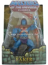 Faker 2009 1. Auflage MOTU Masters of the Universe Classics He-Man MOC NEU & OVP
