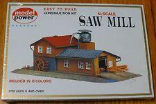 Model Power N #1523  Building Kit -- Saw Mill