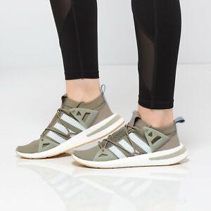 Adidas Originals Arkyn Primeknit Running Shoes Boost Casual Sneaker Cargo B37072