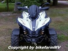 Quad ATV Scheibe RACE schwarz TGB Target 325 425 Gun 550 Yamaha Raptor 660 700