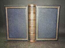 1880 POETICAL WORKS OF LONGFELLOW Illustrated LEATHER Gilt Edges
