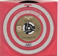 JOE SOUTH games people play*these are not my people US STARLINE REISSUE 45