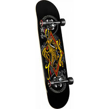"Powell Peralta Golden Dragon Skateboard Complete Diamond Dragon 3 7.5"" x 31.375"""