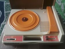 Vintage 1978 Fisher Price # 825 Portable Record Player Phonograph Turntable