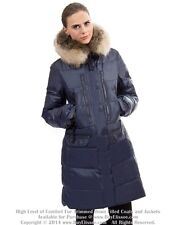 * Goose Down Coat Jkt Parka w/ Raccoon Fur sz 3XL US 16  EU 48 $895 Пуховик Енот