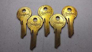5 NOS National Lock OEM Key Blanks 68-619-2 Cabinets Vending Machine Locksmith