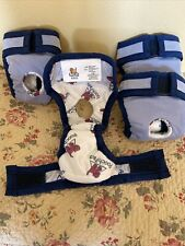 New listing Pooch Pants by Pooch Pads Reusable Dog Diaper Xxsmall Waist 6-10� Up To 5lbs