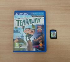 TEARAWAY SONY PS VITA PAL ESPAÑA PSVITA PLAYABLE ENGLISH