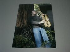 Bill Evans saxophonist  signed autograph Autogramm 8x11 inch photo in person