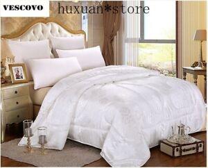 100% Chinese Natural Mulberry Silk Comforter Winter summer Duvet Quilt Filler
