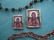 Saint Kateri Tekakwitha—Soldered Pendant/Medal—Catholic Jewelry