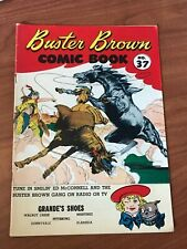 Buster Brown #37 Comic Book 1954 VG+ Reed Crandall art