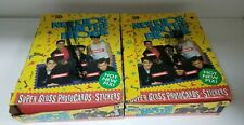 2 Box Lot New Kids on the Block Collectible Trading Card Unopened Pack Box