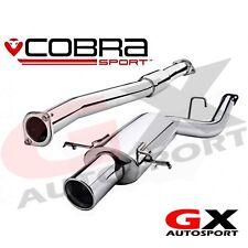 "SB05y Cobra Subaru Impreza WRX STI 01-05 Road Type Cat Back Exhaust 2.5"" Res"