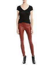 ff0cd325ea114b HELMUT LANG Stretch Lambskin Leather Leggings (size 12)
