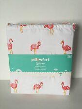 Pillowfort Flamingos Twin Sheet Set Brand New Pillow Fort Circo