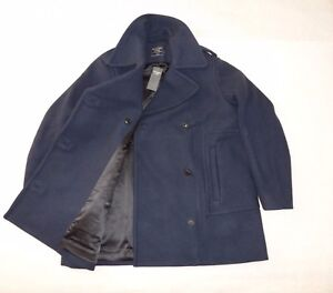 "Womens Abercrombie & Fitch ""Wool Blend Pea Coat"" Coat Jacket size XL 39""-40"""