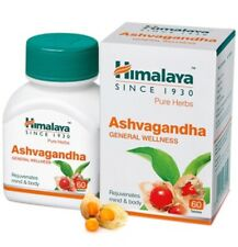 Himalaya Ashvagandha Withania Somnifera Ashwagandha General Wellness 60 Tablets