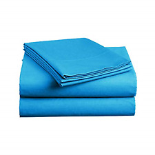 Luxe Bedding Sets - Microfiber King Size Sheets Set 4 Piece, Pillow Cases, Deep