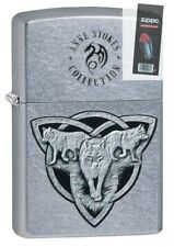Zippo NFL New England Patriots Street Chrome Windproof Lighter 29952 NEW RARE