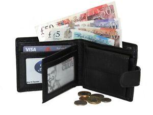 Designer Mens Synthetic leather Wallet Credit Card Holder Purse RFID SAFE A404