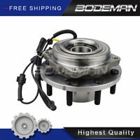 Front Wheel Hub & Bearing For 4WD 2011 2012-2016 Ford F-250 F-350 Super Duty DRW