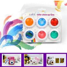 6Pcs Colour Filter Close-Up Lens For Fuji Instax Mini 7s 8 9 Film Instant Camera