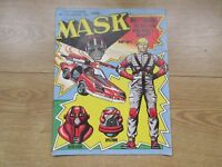 MASK comic No21, AUG 1st - 14th 1987 - VGC - VENOM OUTLAW POSTER INSIDE